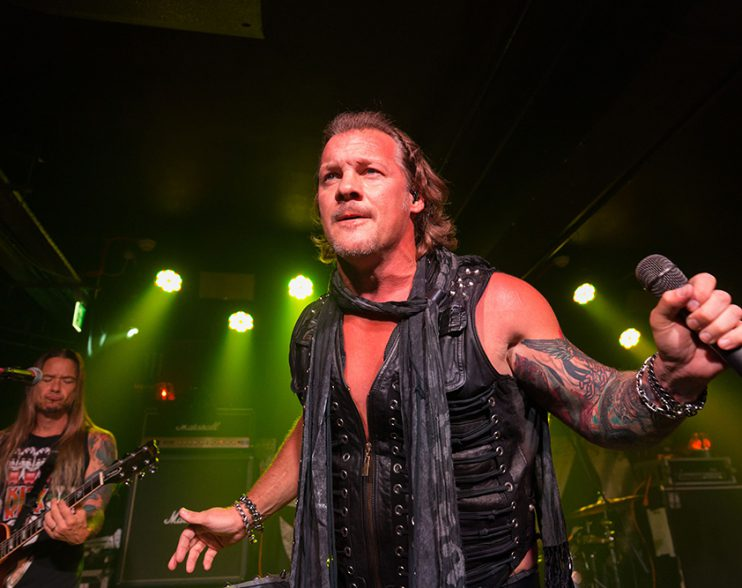 Chris Jericho Is A Superb Rock Star