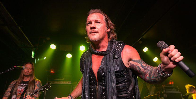 Chris Jericho Is A Superb Rock Star