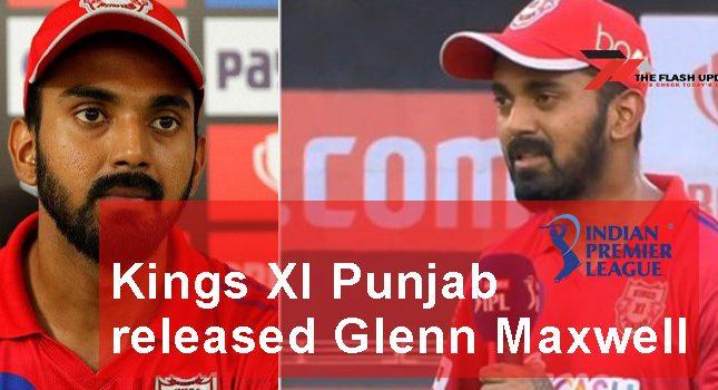 Kings XI Punjab released Glenn Maxwell