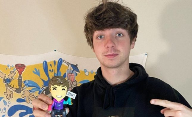 Minecraft star Karl Jacobs