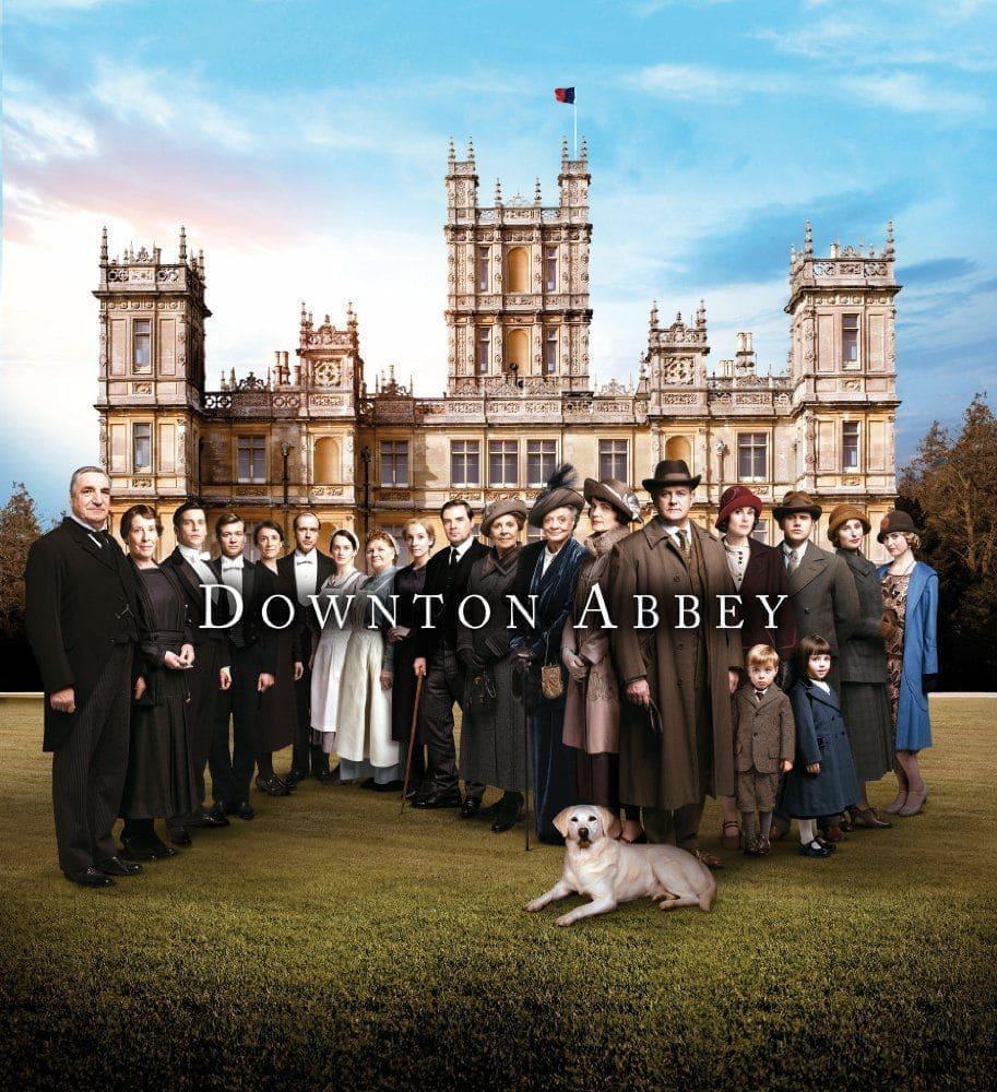 Downton Abbey 2010-2015,ITV, TV series with a British accent