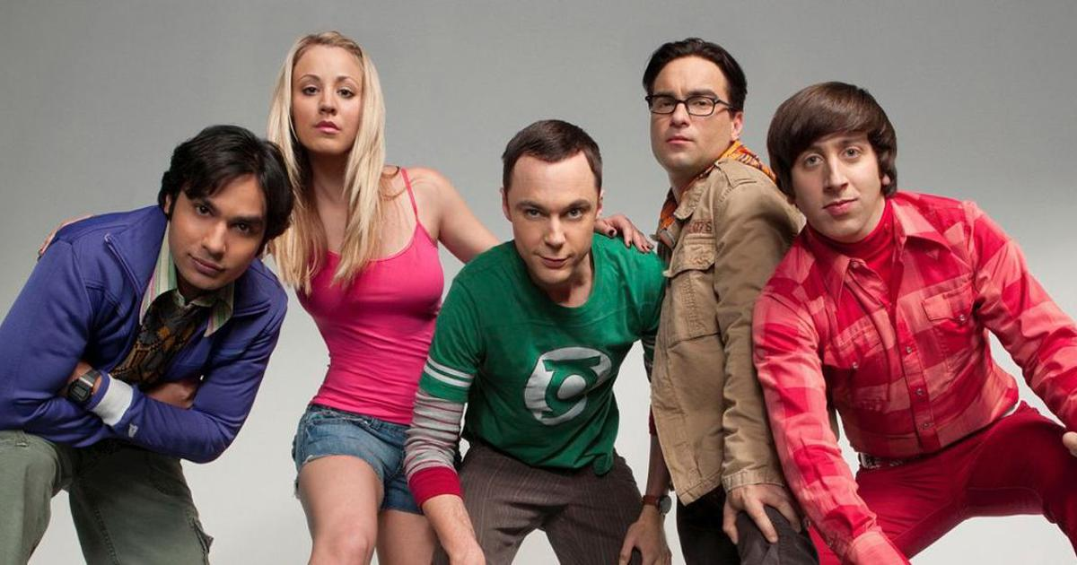 The Big Bang Theory, 2007 - 2019, the CBS, TV series with an American accent