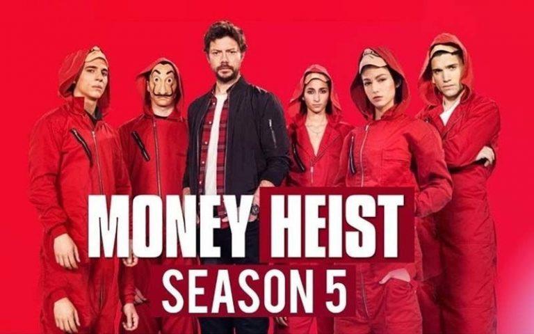 Netflix announces Money Heist season 5 release date