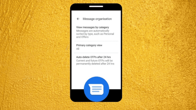 How to Auto Erase OTP Messages from Inbox?