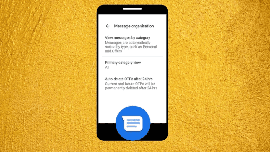 Auto Erase OTP Messages from Inbox