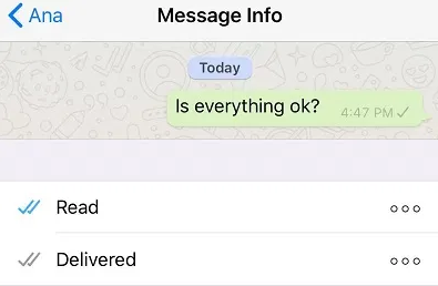 Try sending a message