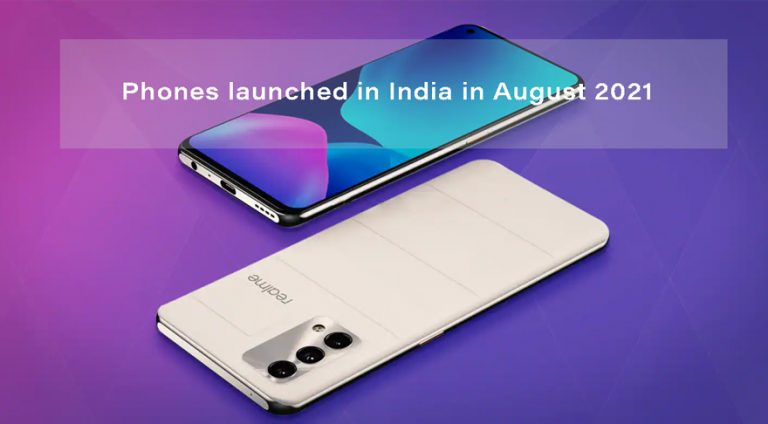 Phones launched in India in August 2021: Vivo V21, Samsung Galaxy A03s, Motorola Edge 20 Fusion, and more