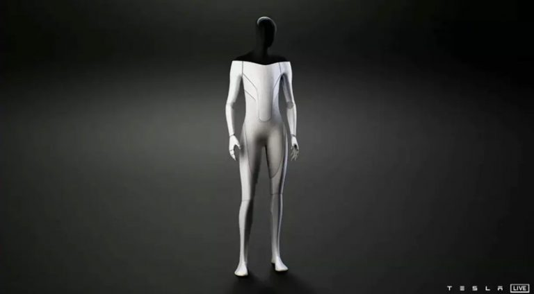 Tesla robot unveiled, Elon Musk pitched humanoid robot idea.