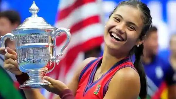 Emma Raducanu is a tennis rarity: A nymph