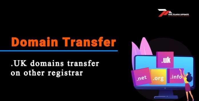 .uk doamin transfer on other registrar